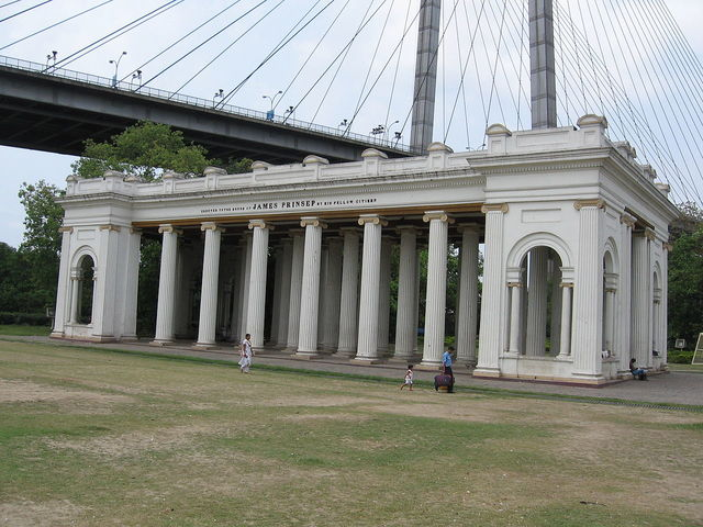 Prinseps Ghat In Calcutta
