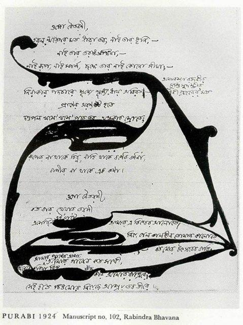 Rabindranath Tagore Erasure