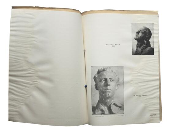 A signatured 1946 catalogue of Sudhir Khastgir paintings