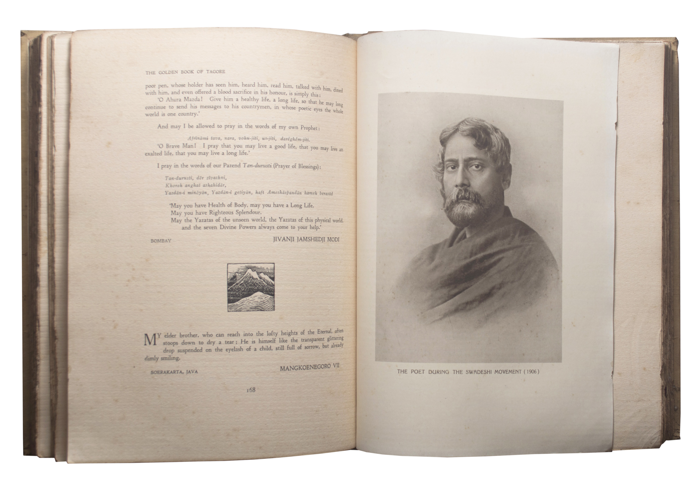 Golden Book of Tagore edited by Ramananda Chatterjee 1931 edition