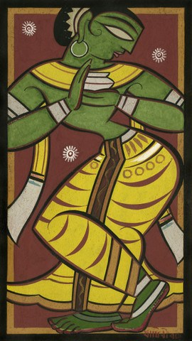 Jamini Roy - Gopini reduced