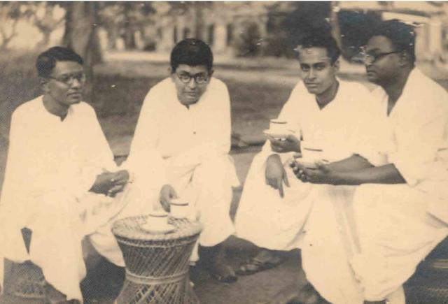 Pulin Behari Sen, Nirmal Chatterjee (with Tea Cup)