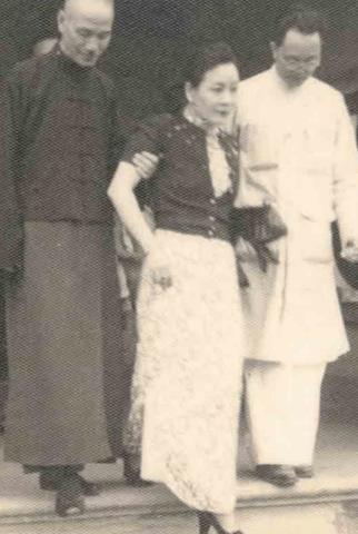 Prof Tan Yun-san and Madame Tan in Santiniketan: 1937