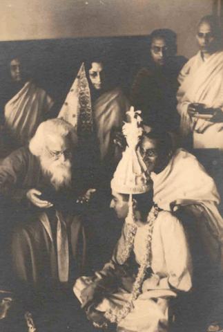 Rabindranath Tagore at a Family Wedding