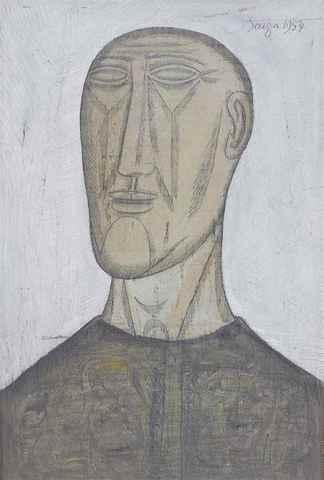 Souza Head 1954