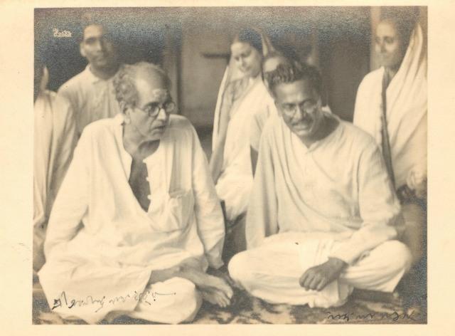abanindranath tagire w nandalal bose signed