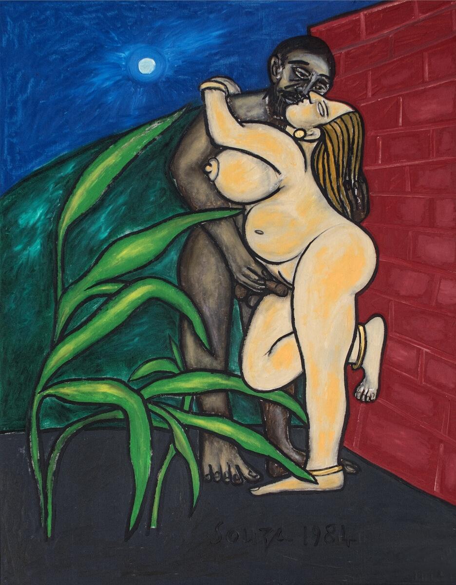 Untitled (Mithuna-Couple / Lovers)