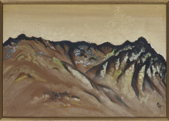 Untitled (View of Mountains in Dehradun)