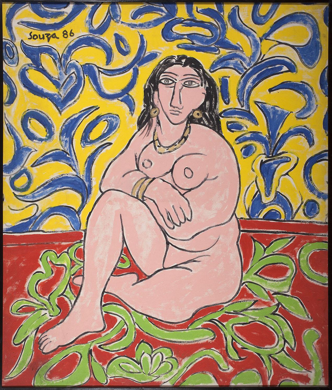 Untitled (Nude - After Henri Matisse)