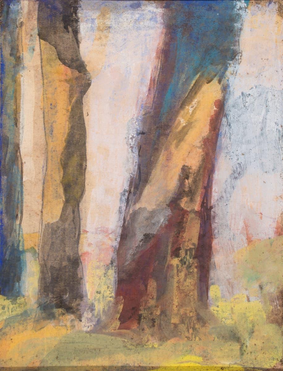 Untitled (Trees) (Circa 1950)