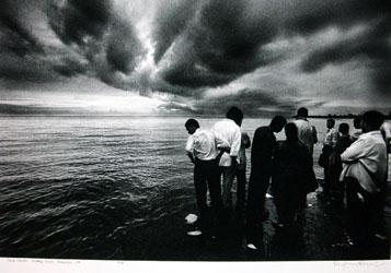 Dark Clouds - Marine Drive, Mumbai