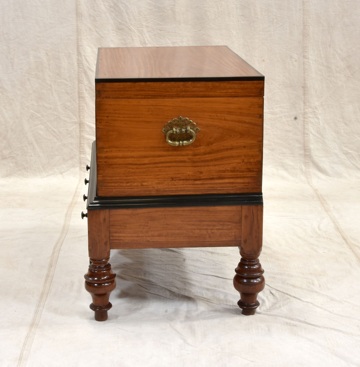 Dutch Colonial Chest on Stand