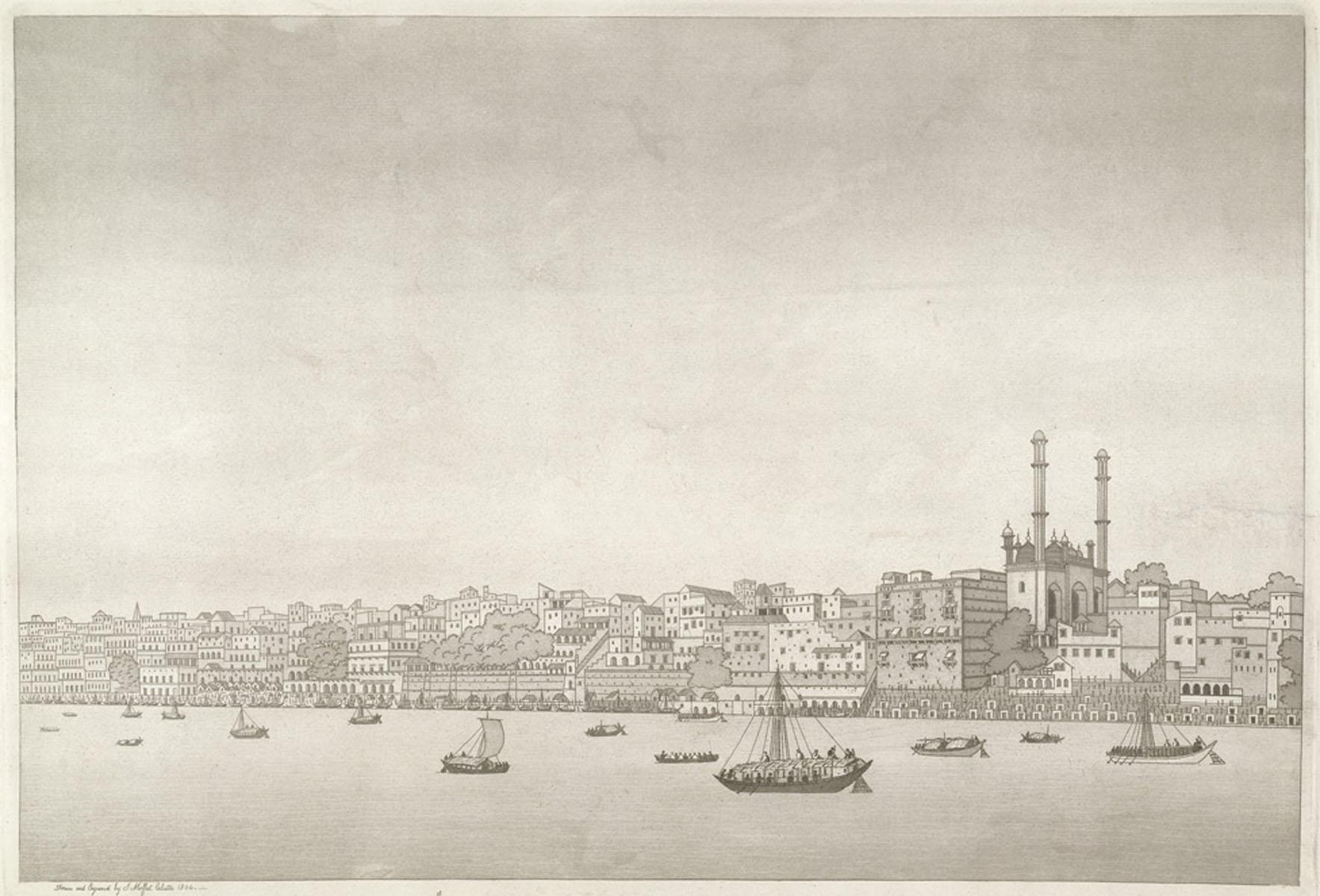 1st VIEW OF THE CITY OF BENARAS