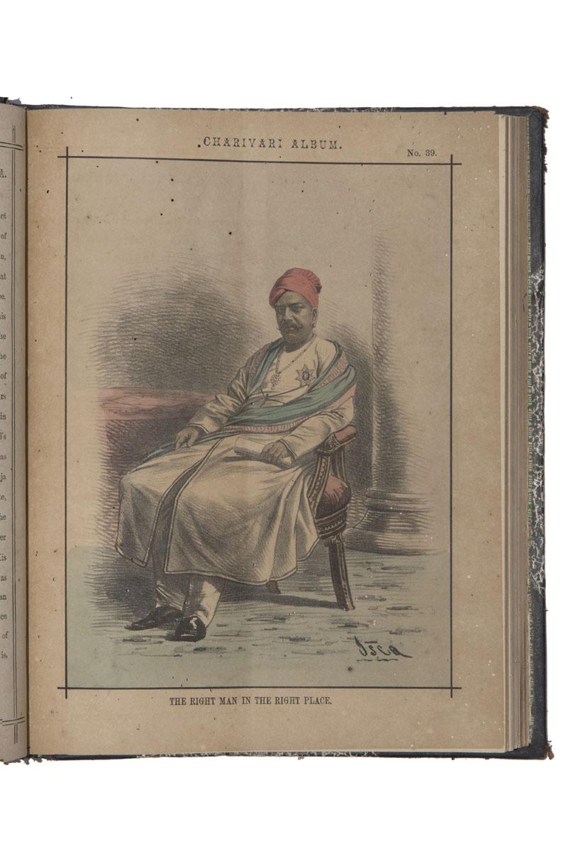 INDIAN CHARIVARI ALBUM AND MAGAZINE