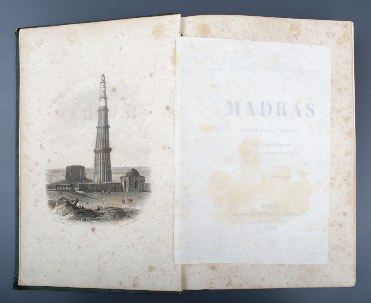 L'Inde Pittoresque - Madras and Bombay