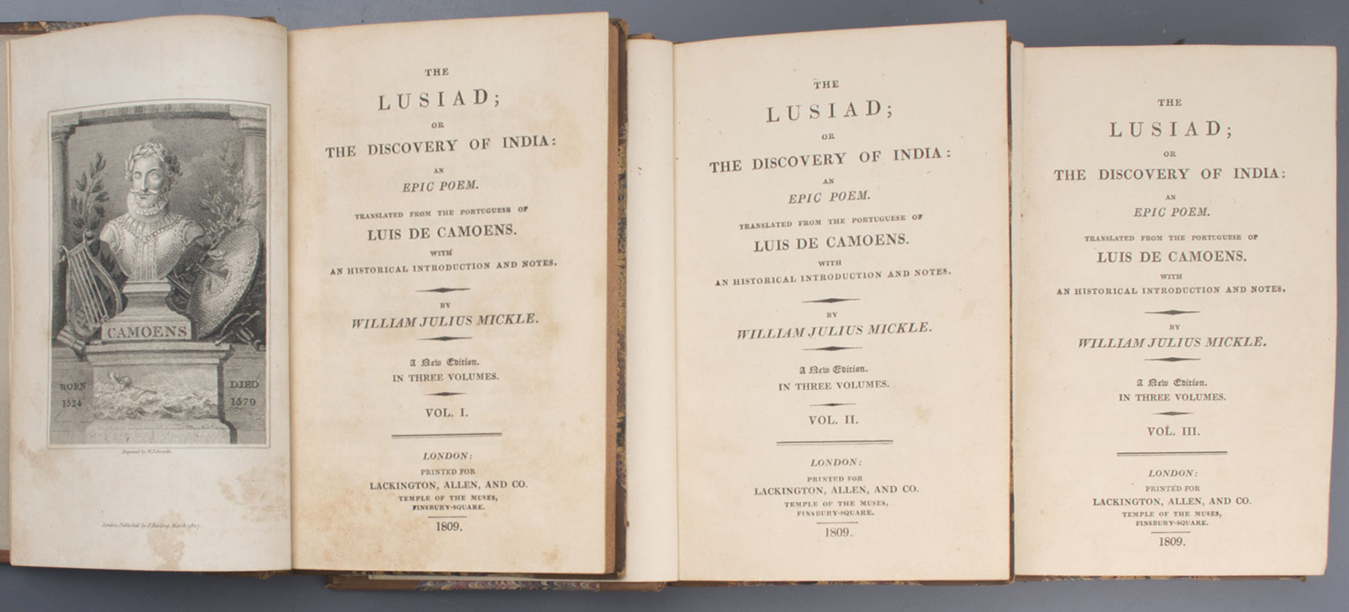The Lusiad or The Discovery of India
