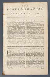 The Scots Magazine - Holwell's account of the sufferings in the Black Hole
