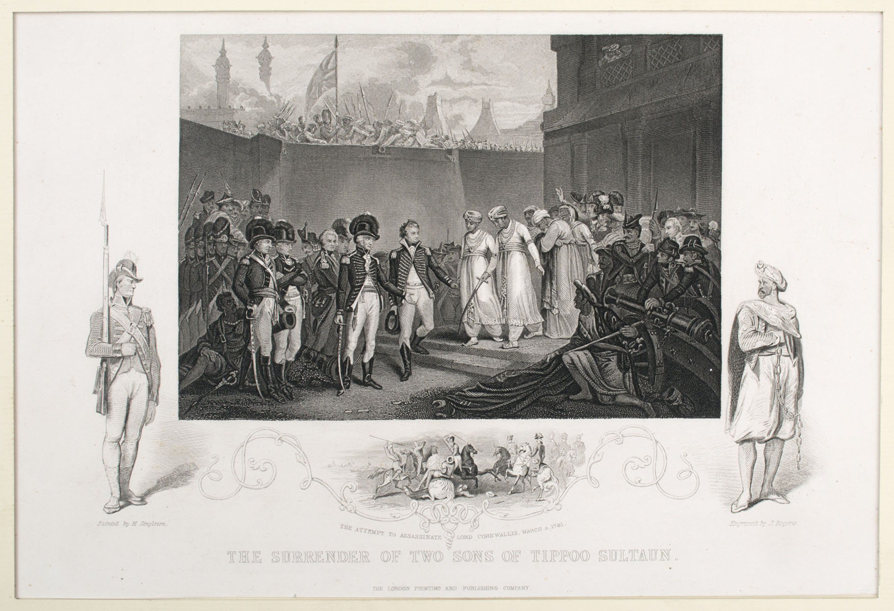 THE SURRENDER OF THE TWO SONS OF TIPOO SULTAUN