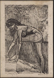 UNTITLED (Leaning Nude)