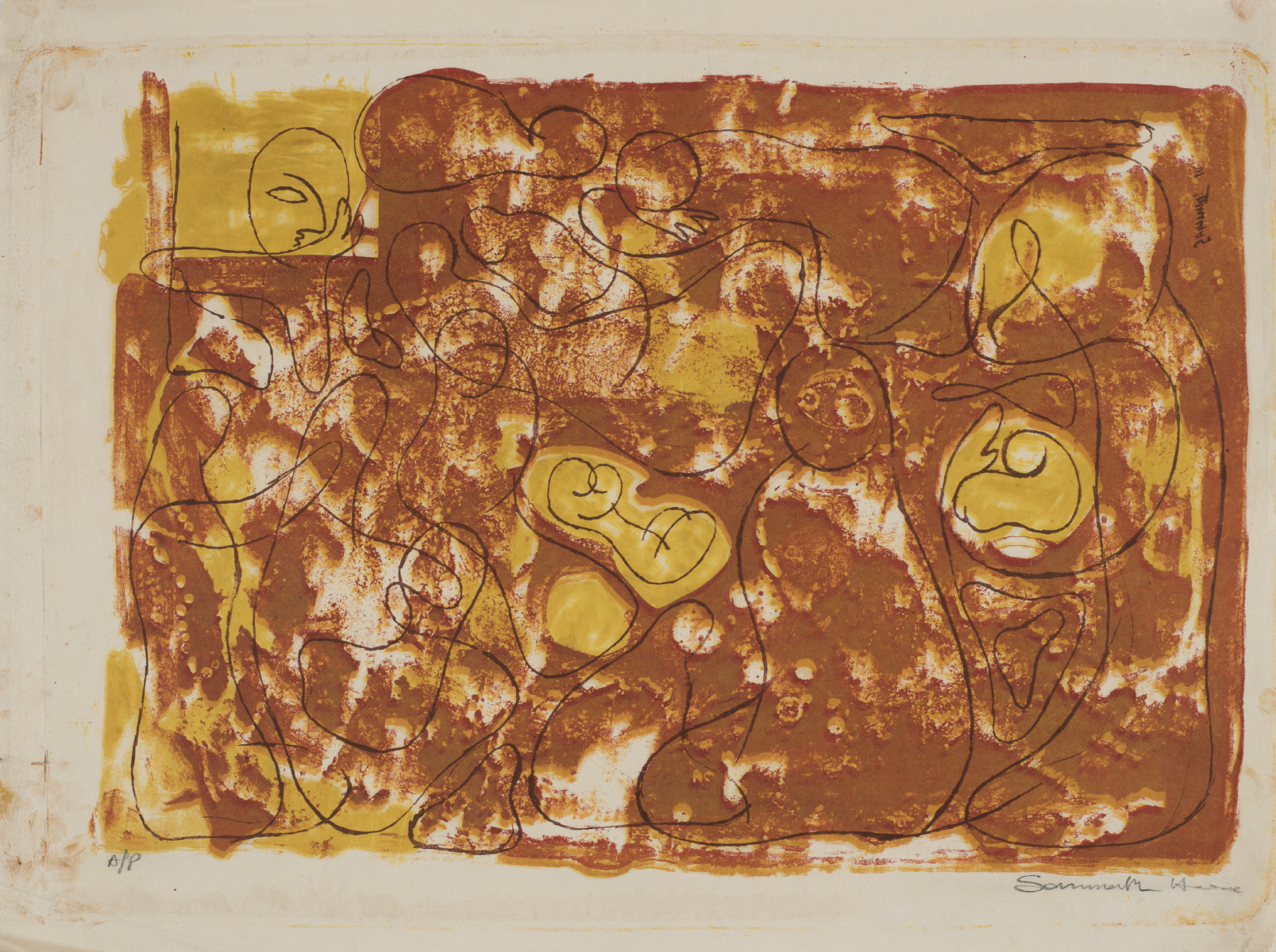 UNTITLED (Abstract with figures)