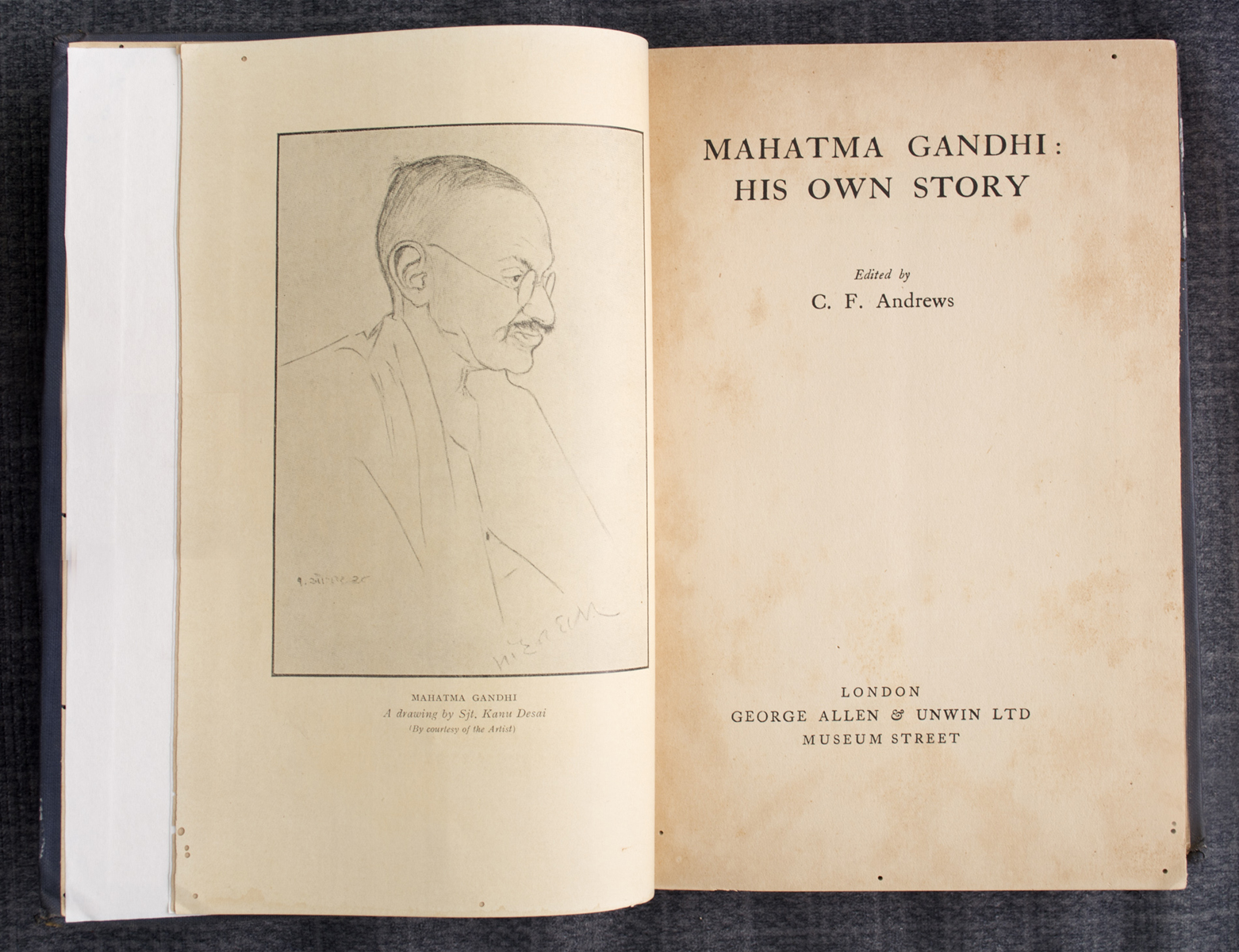 Mahatma Gandhi: His own story