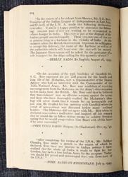 Testament of Subhas Bose : 1942 - 1945