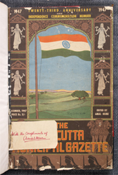 The Calcutta Municipal Gazette: 23rd Anniversary and Independence Commemoration Number: