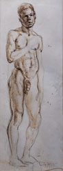 MALE NUDE FRONT