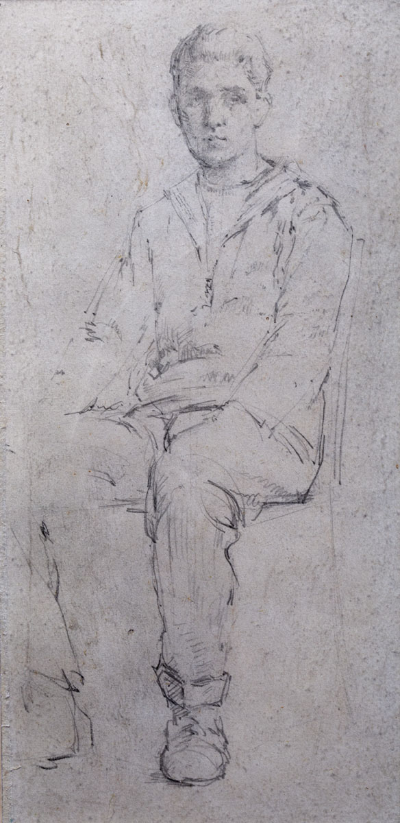 PORTRAIT OF A YOUNG MAN (ROYAL ACADEMY, LONDON)
