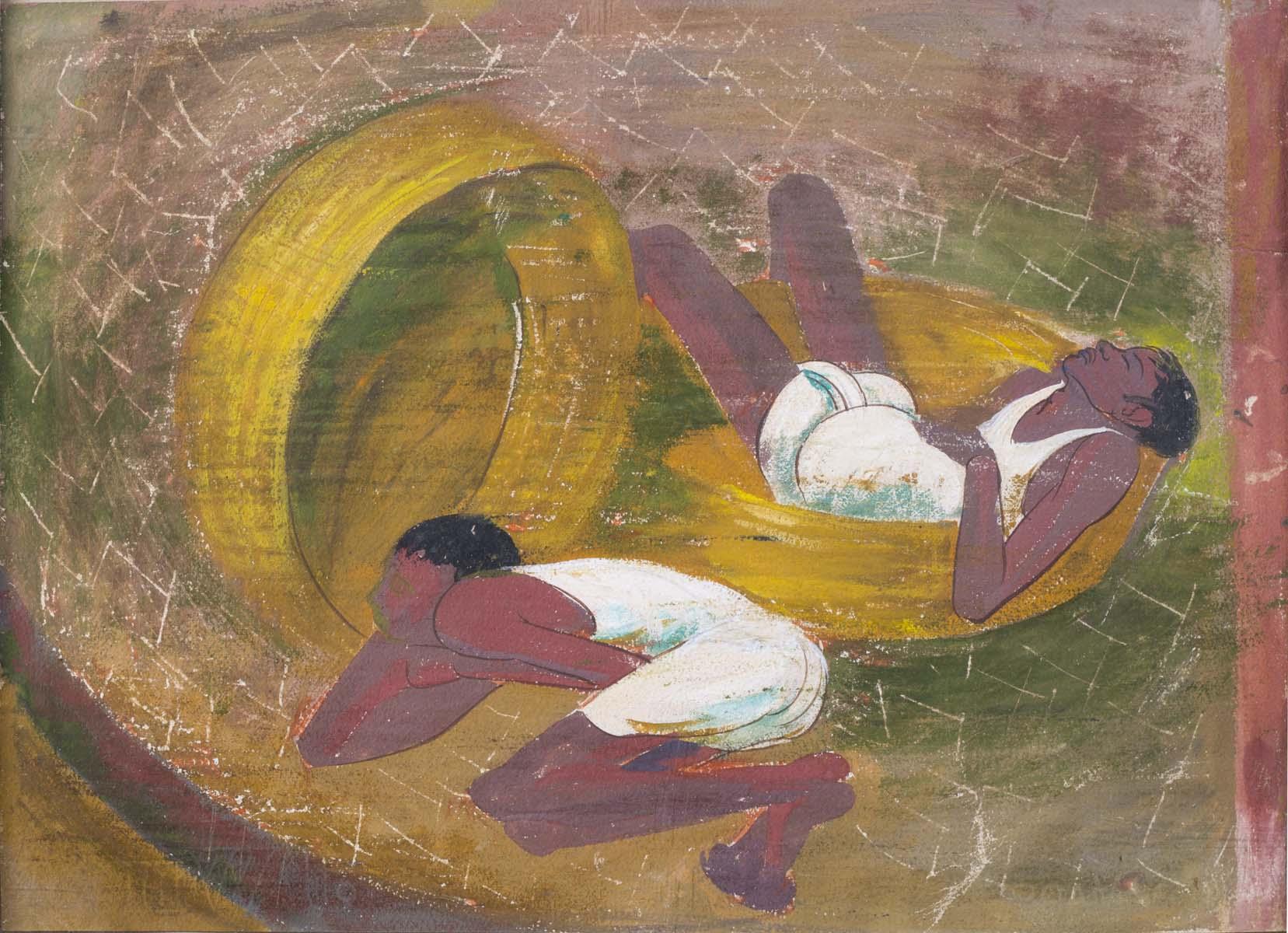 UNTITLED (Boys resting)