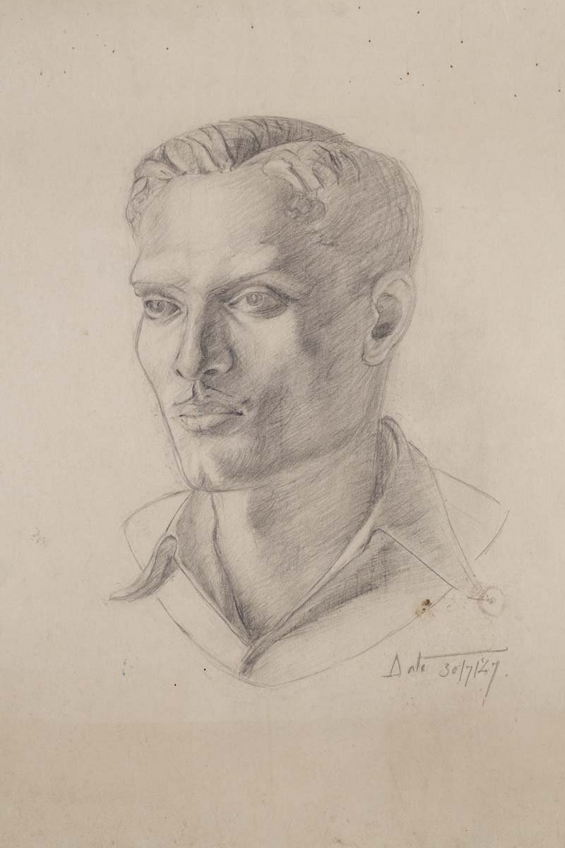 UNTITLED (Portrait of a young man)