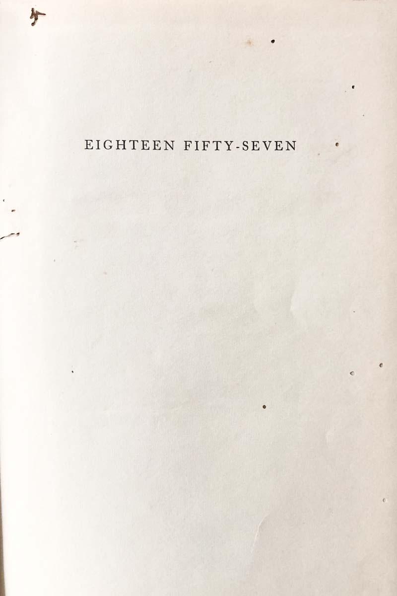 EIGTEEN FIFTY SEVEN