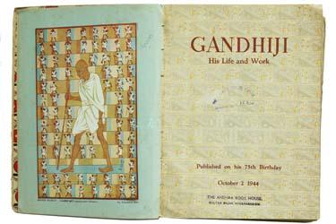 GANDHIJI : HIS LIFE AND WORK