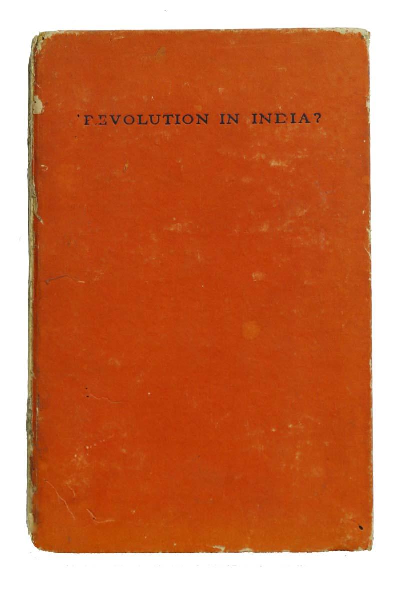 REVOLUTION IN INDIA?