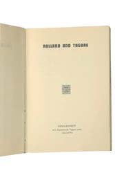 ROLLAND AND TAGORE