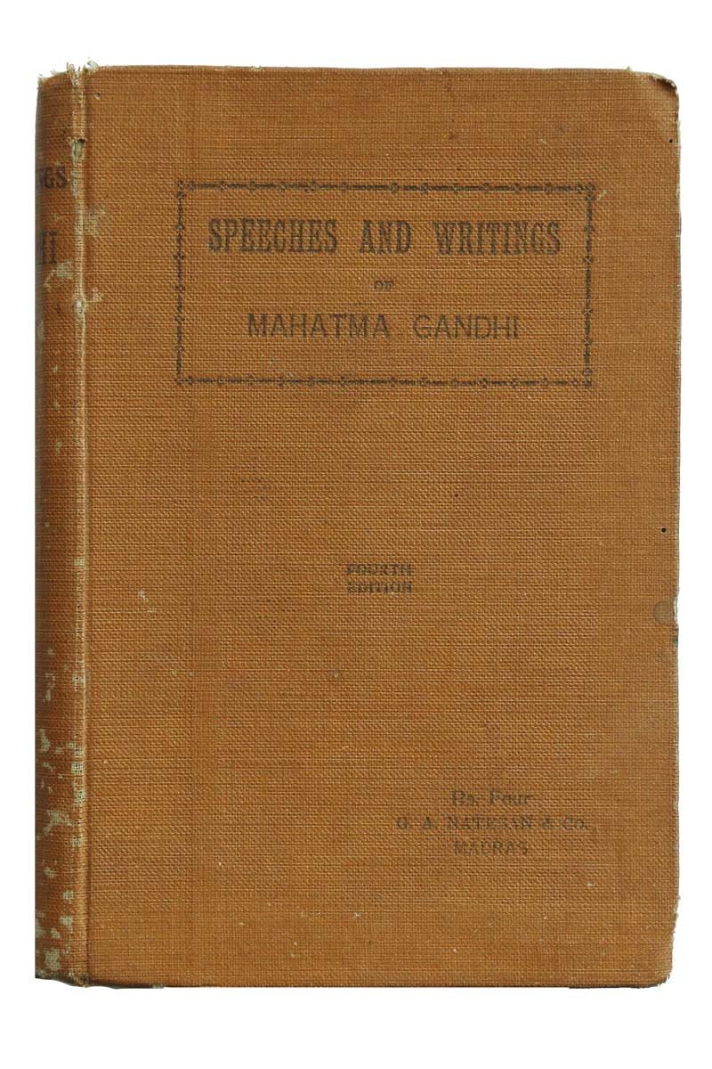 SPEECHES AND WRITINGS - FOURTH SERIES