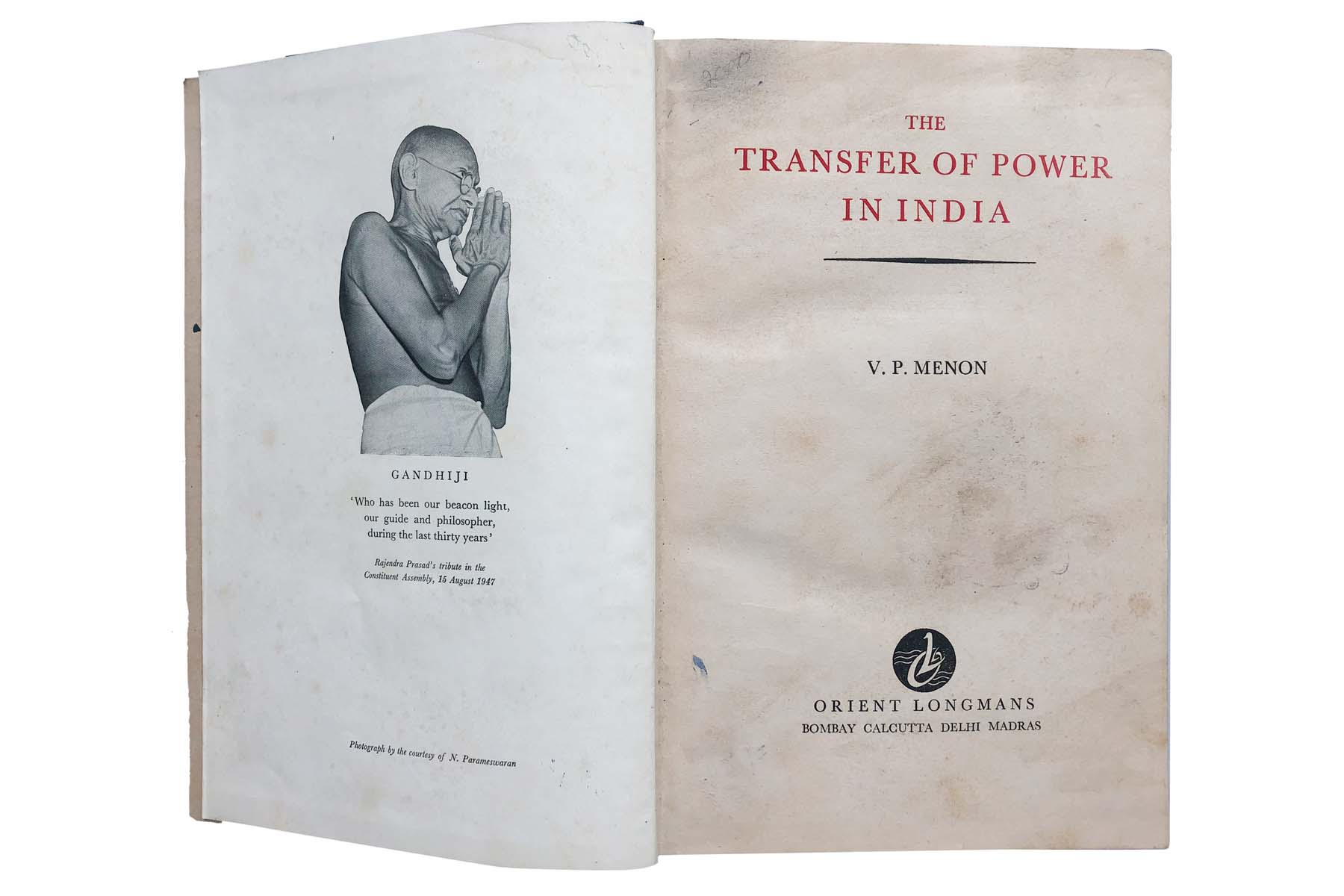 THE TRANSFER OF POWER IN INDIA
