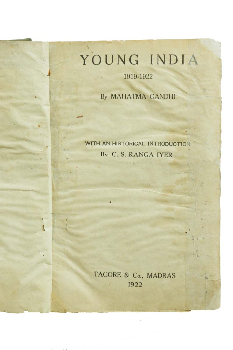 YOUNG INDIA 1919-1922