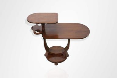 Teakwood Art deco side table