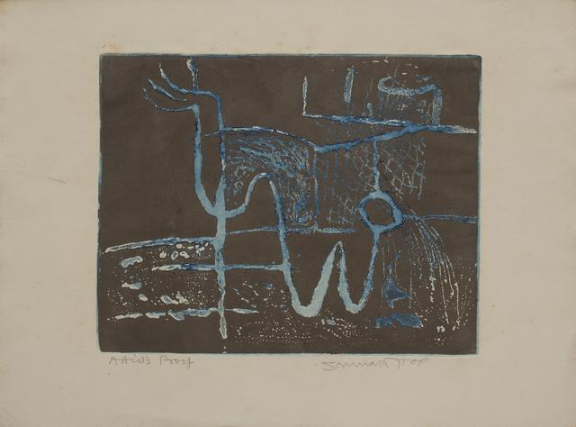 Untitled (Set of two etchings)