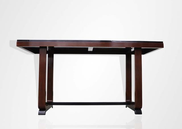 Art deco Mahogany wood console