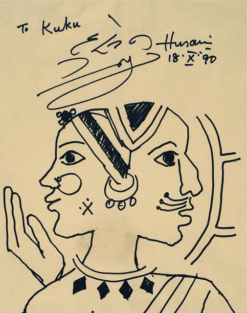 UNTITLED (Two headed woman)