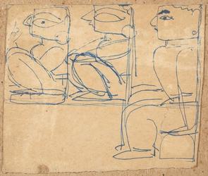 Untitled(Three Figures )