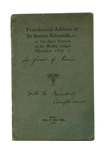 PRESIDENTIAL ADDRESS (AGRA SESSION)