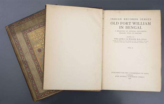 Indian Record Series: Old Fort William in Bengal