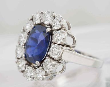 Burma Sapphire Ring