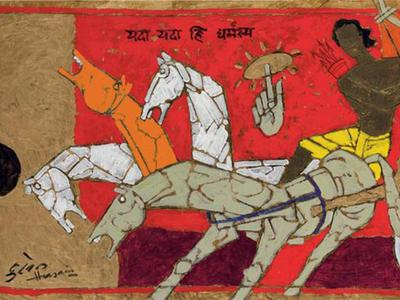 Which Are M. F. Husain's Best Works?