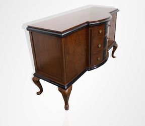 Teakwood English sideboard