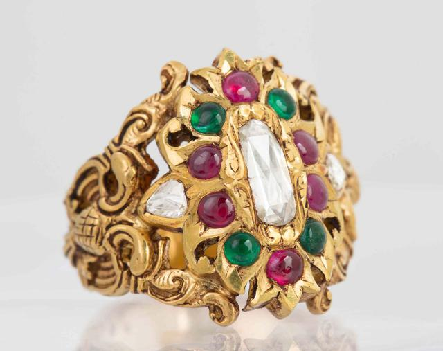 South Indian Traditional Ring