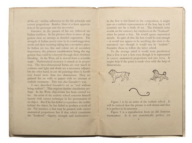 Rabindranath Tagore Exhibition catalogue 1955